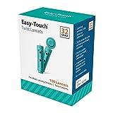 EasyTouch Twist Lancets - 32 G, - (100 per box)