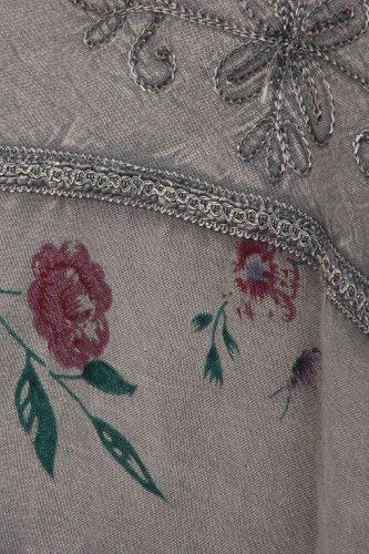 Sakkas 02311 Moon Dance Gypsy Boho Skirt - Charcoal - One Size Photo #6