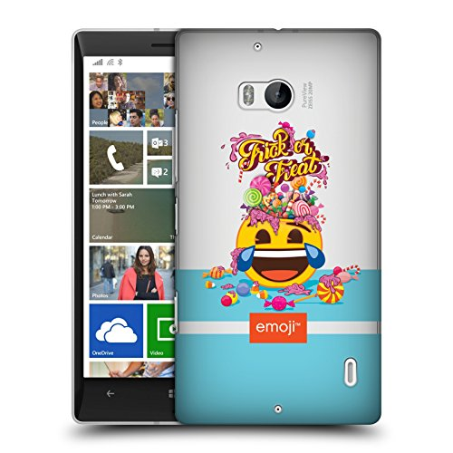 Official Emoji Trick Or Treat Halloween Hard Back Case for Nokia Lumia (Icon Treat)