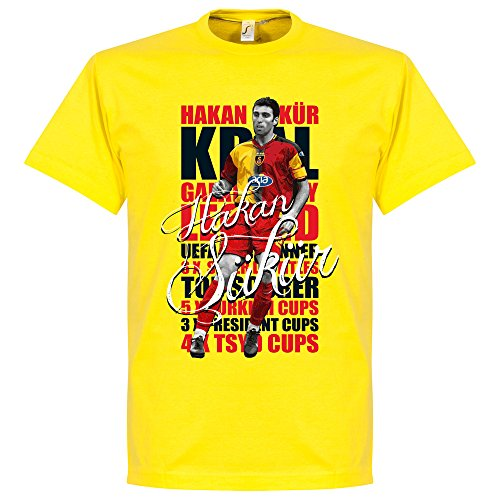 Hakan Sukur Legend T-Shirt - gelb