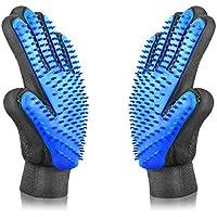 Petinccn Pet Grooming Gentle Brush Bathing Massage Gloves