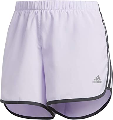adidas Mujer Marathon 20 Short Tinte Púrpura/Gris XX-Small 4