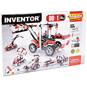 Engino Inventor Build 90 Motorized Multi-Models Building Kit