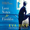 Love Notes for Freddie Audiobook by Eva Rice Narrated by Liza Ross, Jessica Ball