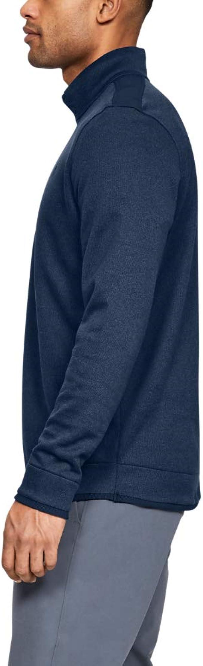 Under Armour Herren SweaterFleece 1//2 Zip Oberteil