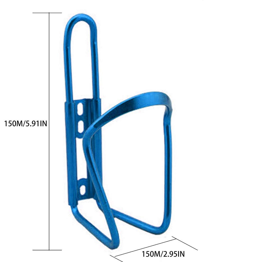 DFHJSXDFRGHXFGH-ES Aleaci/ón de Aluminio Ultraligera Bicicleta Titular de la Botella de Agua Jaula MTB Bicicleta de Carretera Botellas de Bebida Montaje en Rack Accesorios de ciclismoblue