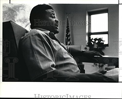 Vintage Photos 1990 Press Photo Reginald Groves Prisoner at The Pre-Release Center - cva15744