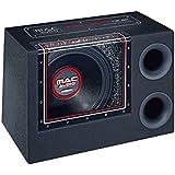 """Mac Audio Bassleader 112 BP - Subwoofer de paso de banda (conductor de 12"""", rango de frecuencia de 23 - 500 Hz) negro"""