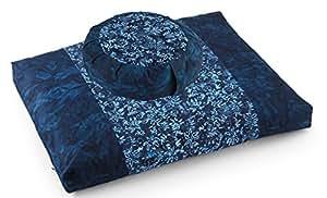 Amazon.com: dharmacrafts Joyful Yogi del batik zzset – Zafu ...