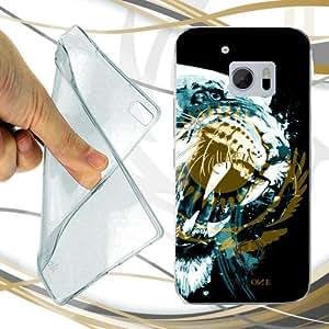 CUSTODIA COVER CASE TIGRE KAZAKISTAN PER HTC ONE M10
