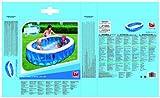 H2OGO! Elliptic Inflatable Pool