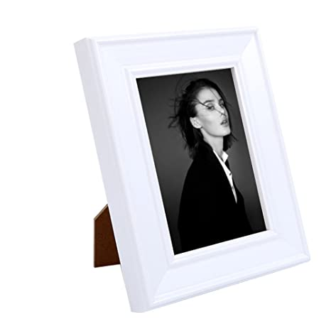 Amazon.com - Small 3.5x5 Inch White Cheap Vintage Picture Frames ...