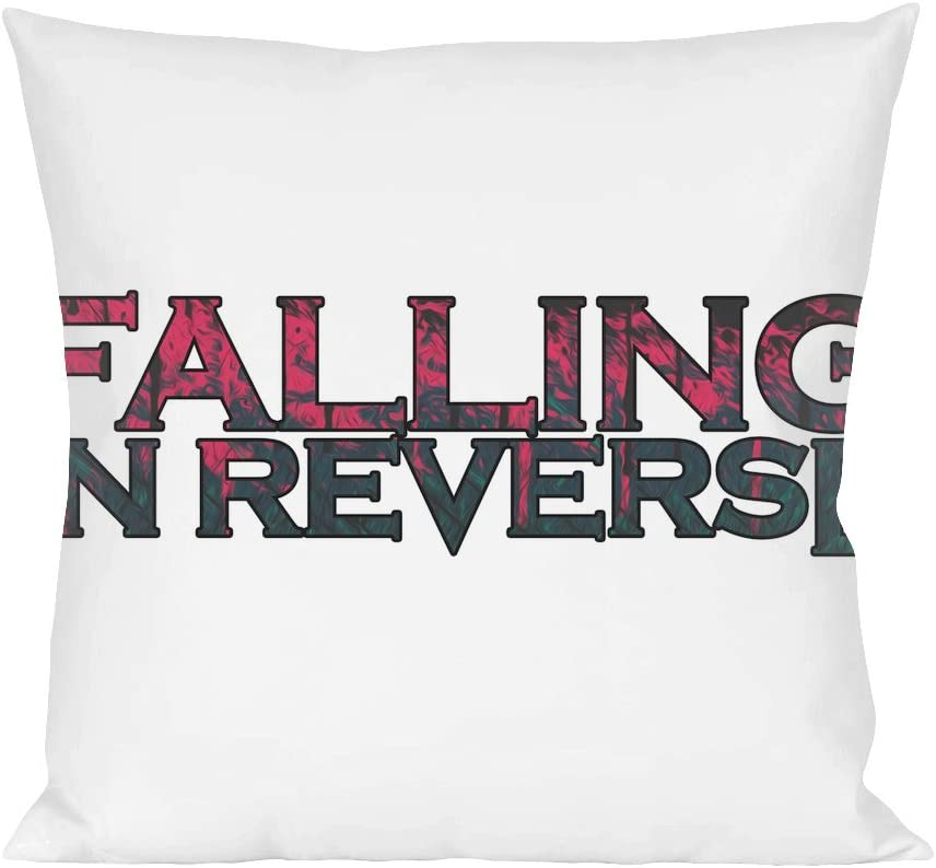 Falling In Reverse Throw Pillow Cover