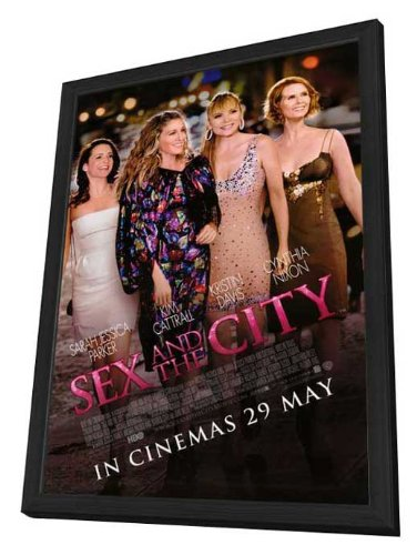Sex and The City: The Movie - 27 x 40 Framed Movie Poster by Movie Posters