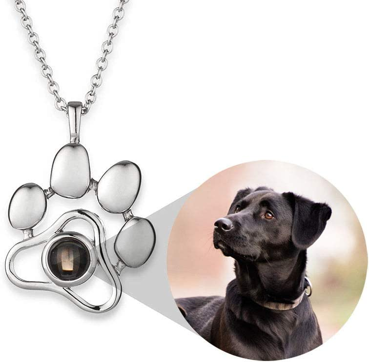 Pet memorial Necklace ~ Sympathy gift ~ Cremation jewelry ~ Ash necklace ~ Personalized Memorial jewelry ~ Loss of pet photo jewelry  Custom