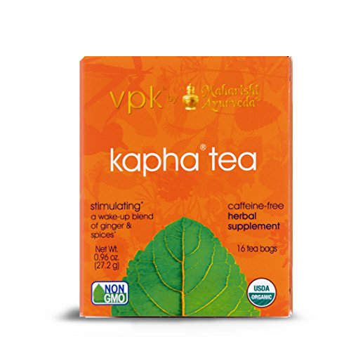 Stimulating Kapha Organic Herbal Tea, 16 Herbal Tea Bags.96 oz (27.2 g) ()