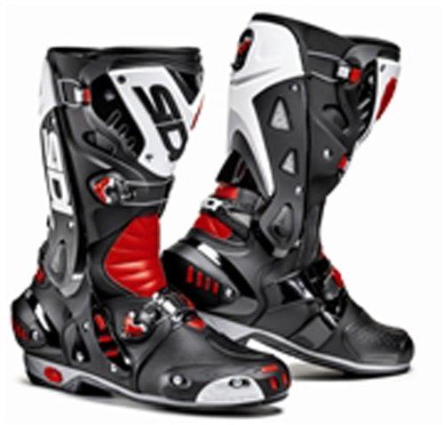 White Motorbike Boots - 2
