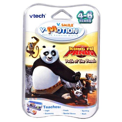 VTech Year 2008 V.Smile V.Motion Series Active Learning System Smartridge - KUNGFU PANDA