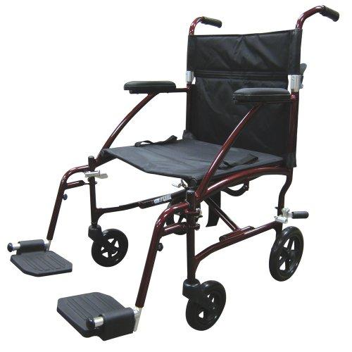 Drive Medical Fly Lite Ultra Lightweight Transport Wheelchai