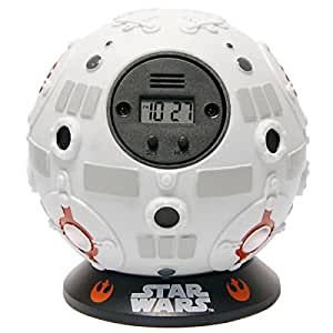 Zeon Star Wars Off The Wall Alarm Clock Jedi Training Ball