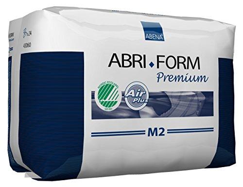 Abena Abri-Form Premium Incontinence Briefs, Medium, M2, 24 Count