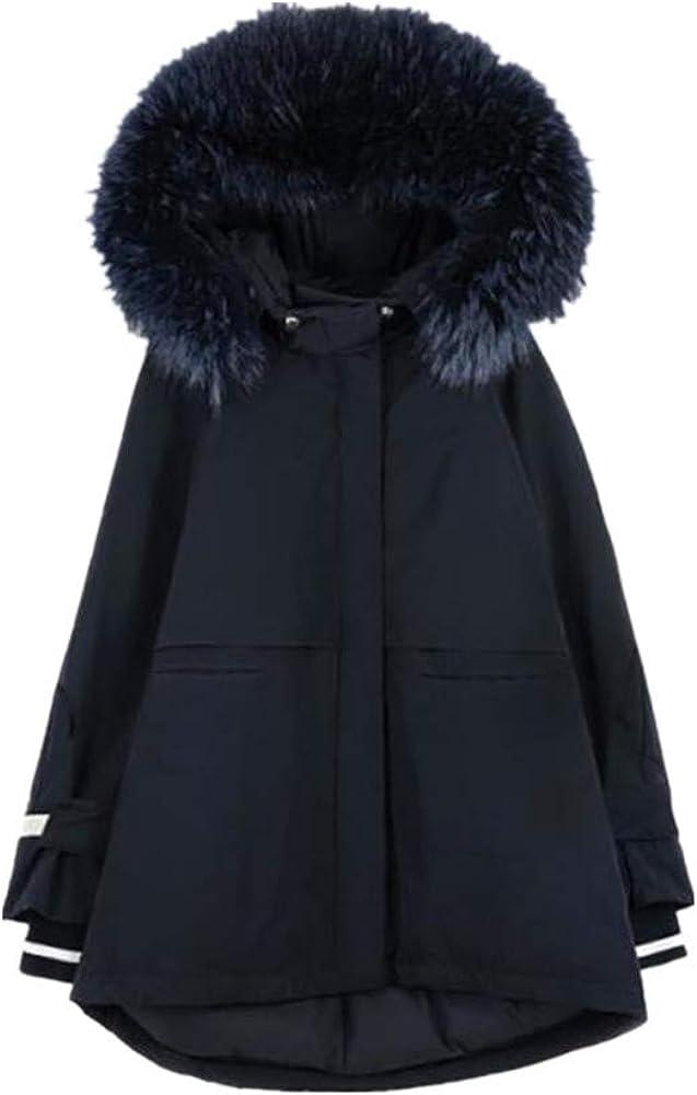 XYUANG Parka d'hiver Femme Veste Chaude Black
