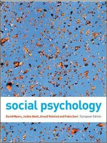 Social psychology amazon david myers jackie abell arnulf social psychology amazon david myers jackie abell arnulf kolstad fabio sani 9780077121785 books fandeluxe Images