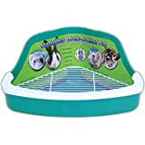 Ware Manufacturing Plastic Scatterless Lock-N-Litter Small Pet Pan- Colors May Vary