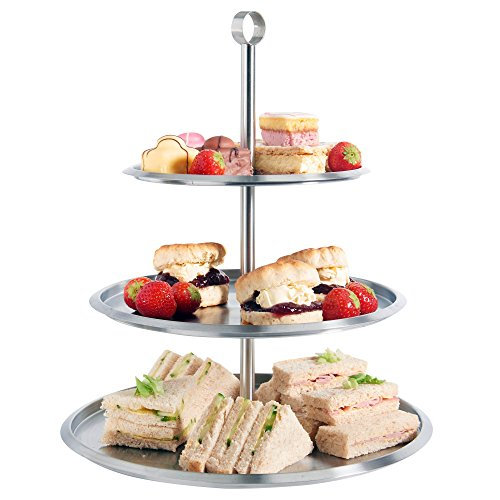 Vonshef 3 tier cake serving stand tray to display cakes for Perfect kitchen sharjah