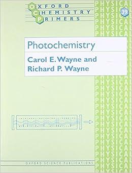 Photochemistry por Carol E. Wayne