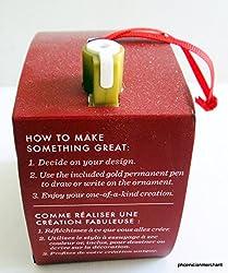 Starbucks Christmas 2013 Ornament, Create Your Own Ornament (11030544)