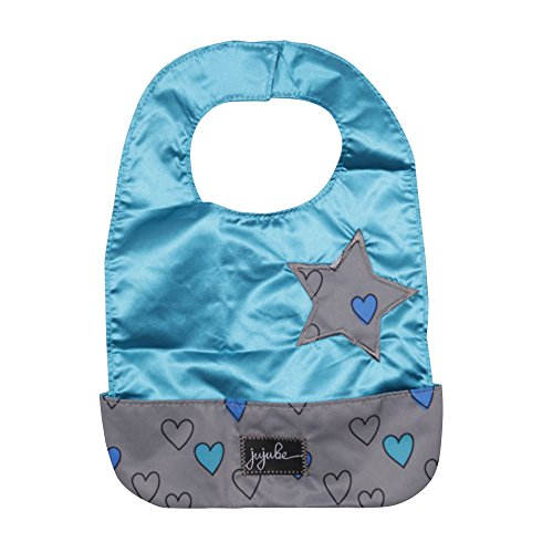 Ju-Ju-Be Be Neat Reversible Baby Bib, Classic Collection Rad Heart (Collection Heart)