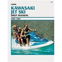 CLYMER Clymer Kawasaki Jet Ski 1992-1994 / W802 /