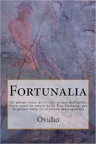 Book Fortunalia: Volume 1 (Arvalia)