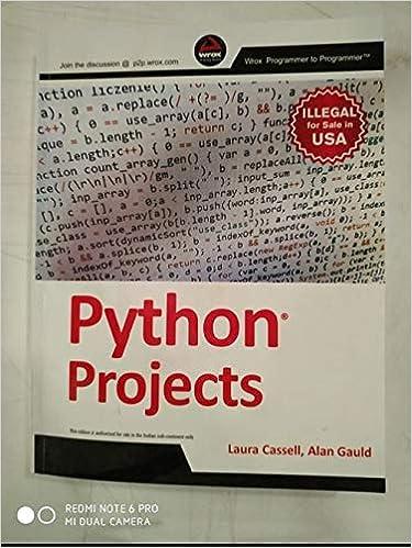 Python Projects: Amazon co uk: ALAN GAULD: 9788126554157: Books