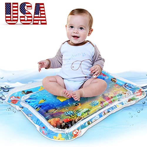 GREATSSLY Baby Water mat - Inflatable Tummy Time Premium Leakproof Water Play mat for Babies Infants & Toddlers is The Perfect Fun time Activity Center Your Kid's Stimulation Growth 24