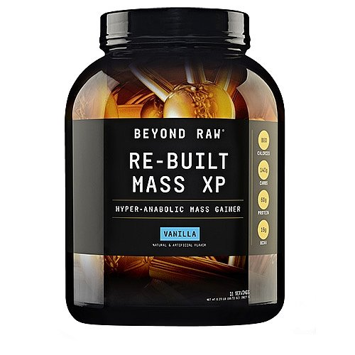 Beyond Raw ReBuilt Mass XP Vanilla California Only 6.23 lbs.