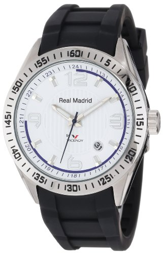 Viceroy Men's Real Madrid 432833-05 Black Luminous Watch