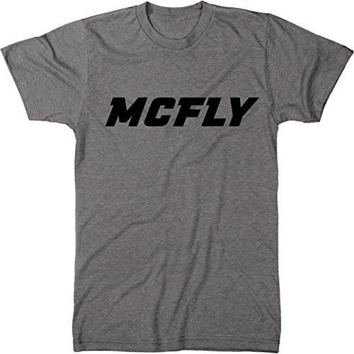 McFly Men's Modern Fit Tri-Blend T-Shirt (Premium Heather, - Tee Premium Fit Heather