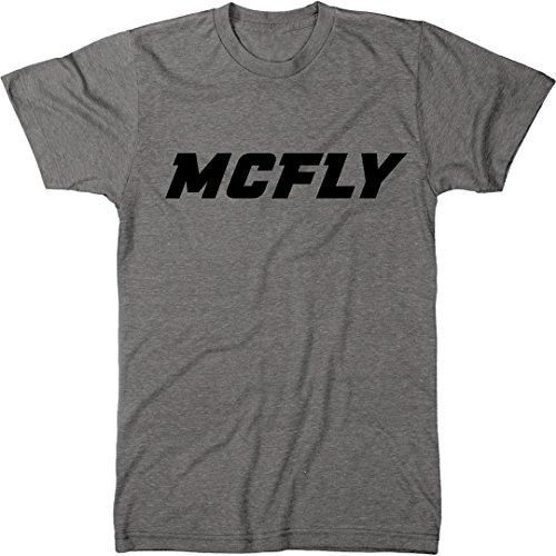 McFly Men's Modern Fit Tri-Blend T-Shirt (Premium Heather, - Premium Tee Fit Heather