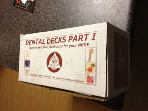 Dental Decks, Part 1: Comprehensive Flashcards for your NBDE (Flash Cards Nbde)