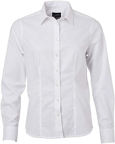 James and Nicholson - Camisa de Manga Larga diseño Oxford ...