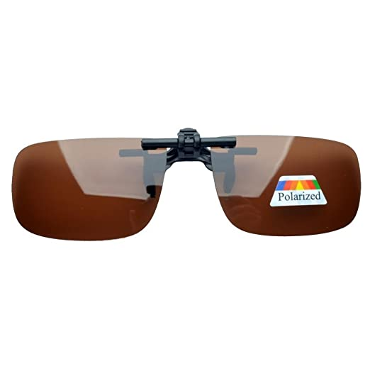 e67373a60122 Amazon.com  Eyekepper Small Polarized Flip up Sunglasses Clip on ...
