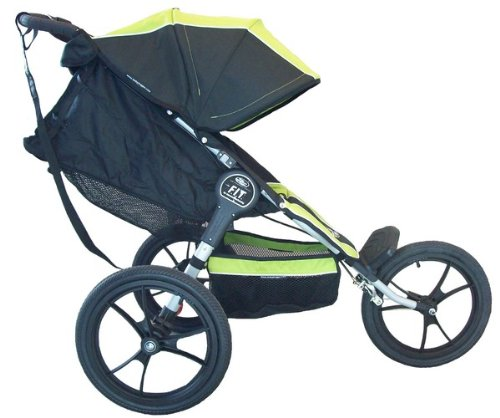 Amazon.com: Baby Jogger F.I.T. Single Jogging Stroller, Slate ...