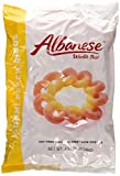 Albanese Passionate Peach Orange-Yellow Gummi Rings, 4.5 Pound Bags (Pack of 2)