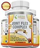 -DR RATED JOINT PAIN RELIEF - Natural Formula With Glucosamine Sulfate - Chondroitin - MSM and ADDED TURMERIC - Natural Complex With Pain Relief For Joint Pain - Aches And Inflammation