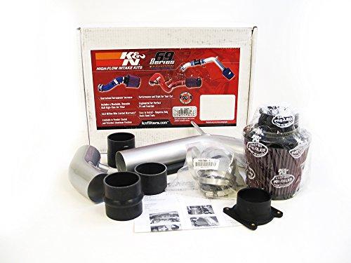 02-06 Nissan Altima 2.5L L4 K&N Typhoon Cold Air Intake Kit + Filter Silver 69-7060TS