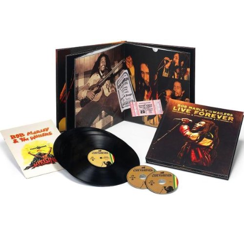 Live Forever: The Stanley Theatre, Pittsburgh, PA, September 23, 1980 [2 CD/3LP Limited Ed. Super Deluxe] by Marley, Bob & The Wailers