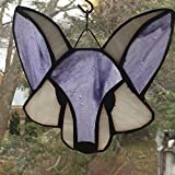 One Stained Glass Fox