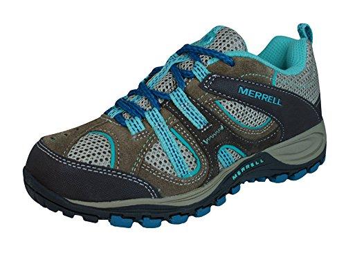 Merrell Yokota Trail Ventilator Girls Hiking Sneakers / Shoes-Brown-13K (Merrell Yokota Ventilator compare prices)